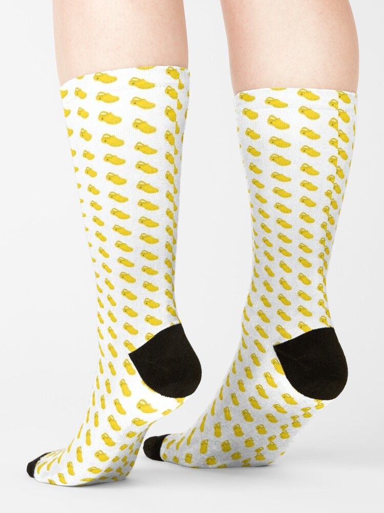 Alternate view of Croc Socks (Yellow) Socks
