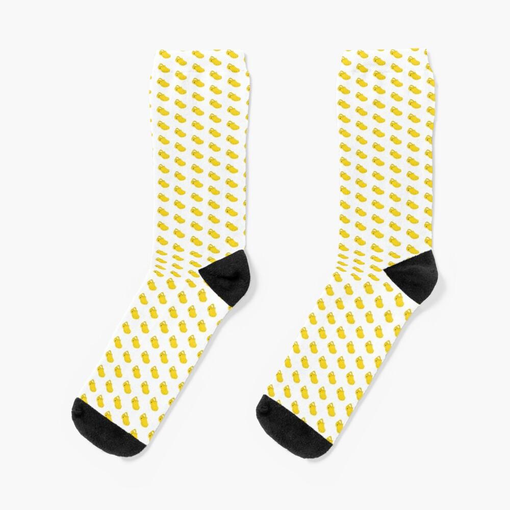 Croc Socks (Yellow) Socks