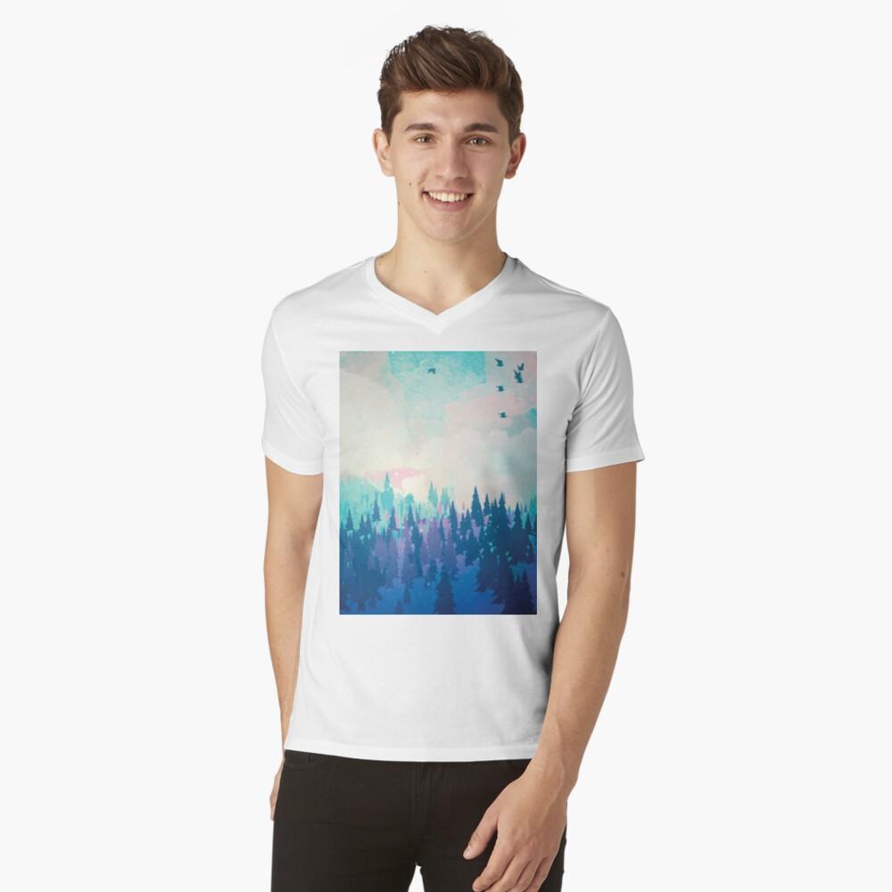 Forest V-Neck T-Shirt