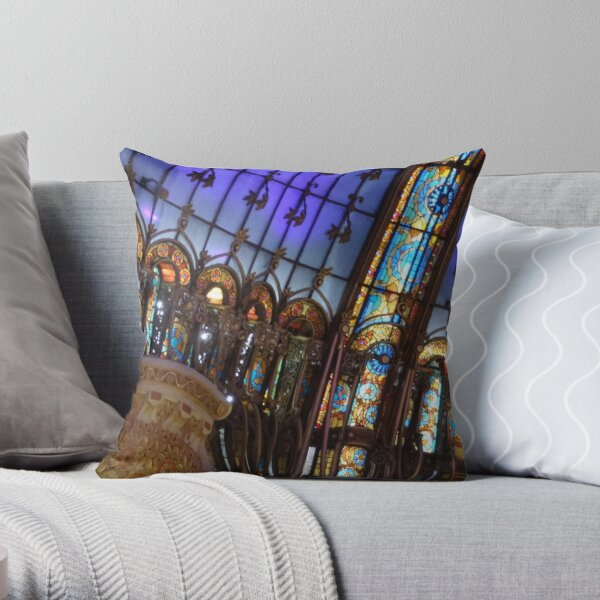 Lost Art Throw Pillow