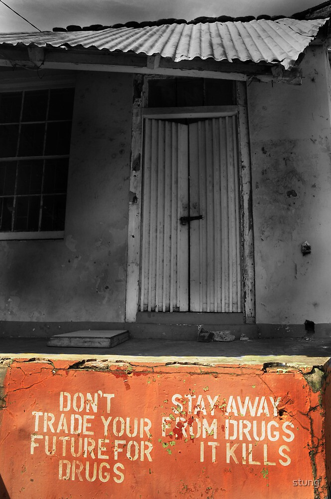 Dont Trade Your Future For Drugs  by Stung  Photography