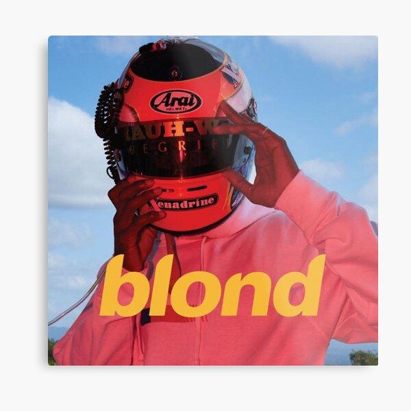 Frank Ocean Blond  Metal Print