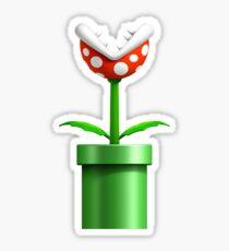 Super Mario Bros Piranha Sticker