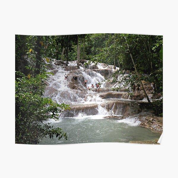 Dunns River Falls, Jamaca Poster