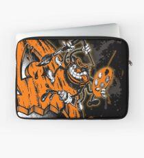 Halloween Pumpkin Spider Artist Laptop Sleeve