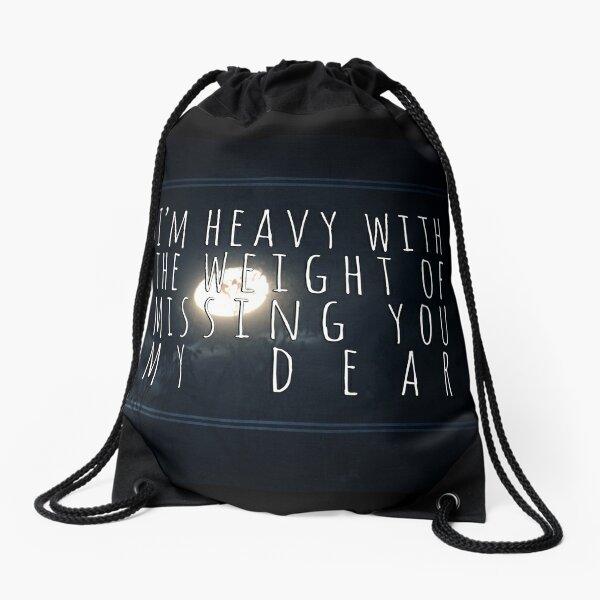 Man overboard - rare lyrics Drawstring Bag