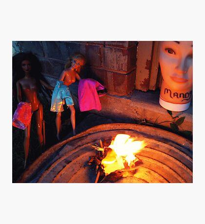Bonfire of the Vanities Photographic Print