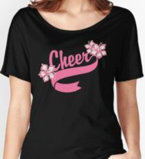 "Cheerleading ""Cheer"" Women's Relaxed Fit T-Shirt"