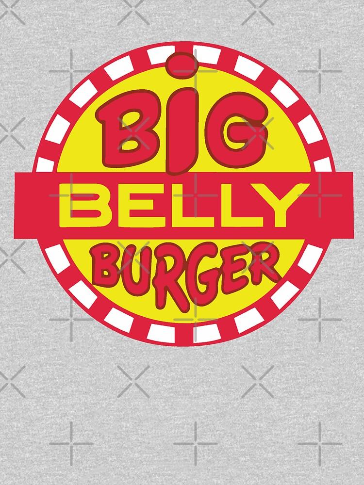 Big Belly Burger shirt - Arrow, Diggle, Starling City by fandemonium