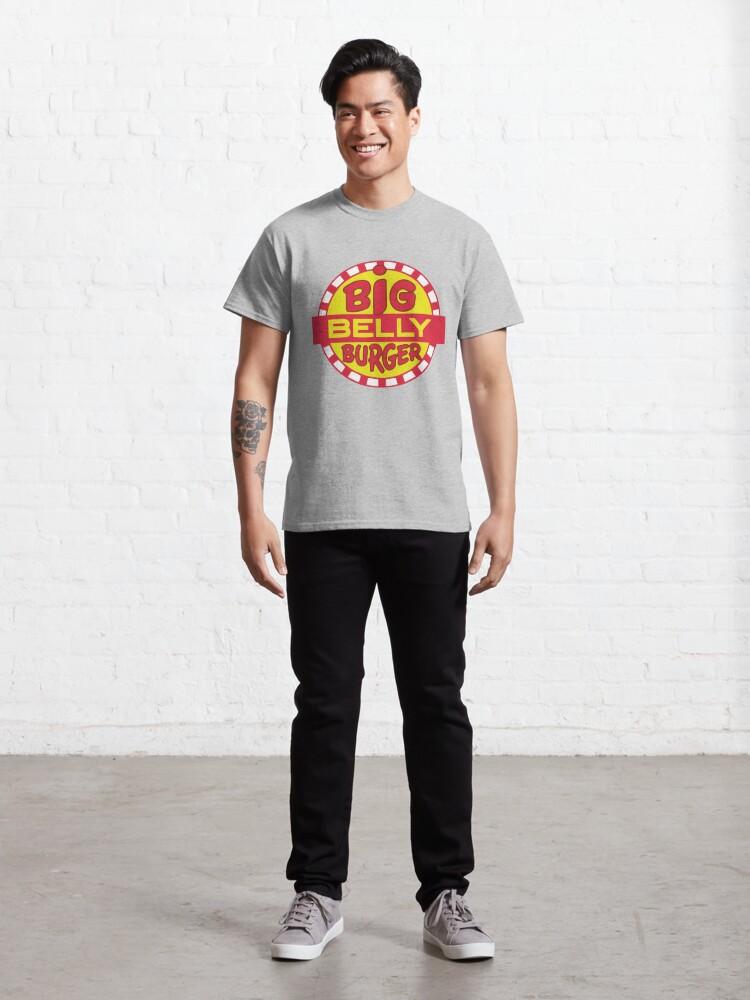 Alternate view of Big Belly Burger shirt - Arrow, Diggle, Starling City Classic T-Shirt
