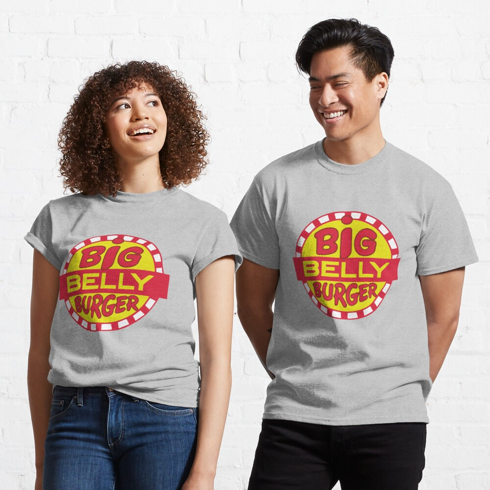 Big Belly Burger shirt - Arrow, Diggle, Starling City Classic T-Shirt