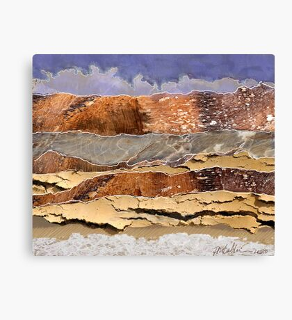 """Mountains to the Sea""  Canvas Print"