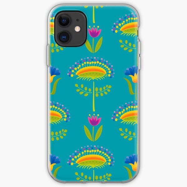 Floral Pattern iPhone Soft Case