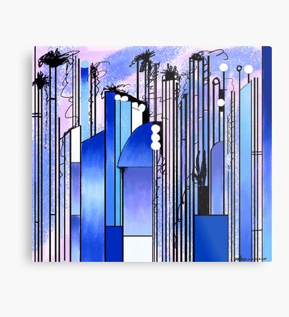 """Hollywood""  Metal Print"