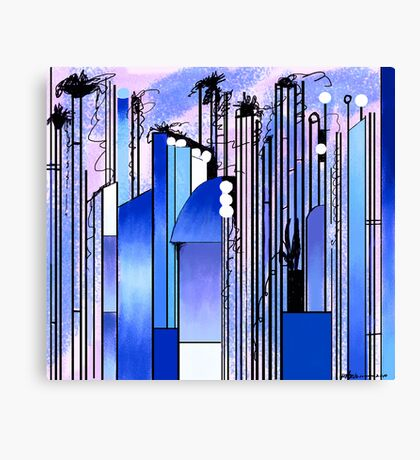 """Hollywood""  Canvas Print"