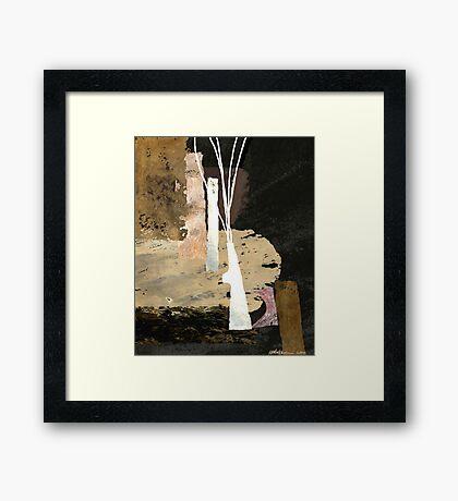 """""""White Vase""""  Framed Print"""