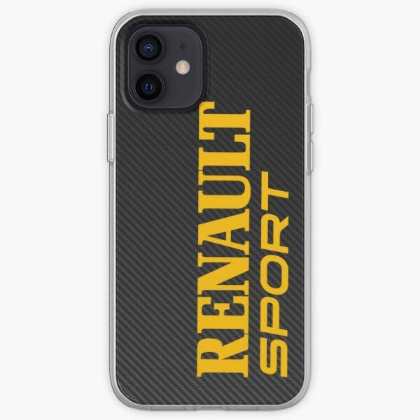 Renault Sport Fibre de Carbone Coque souple iPhone