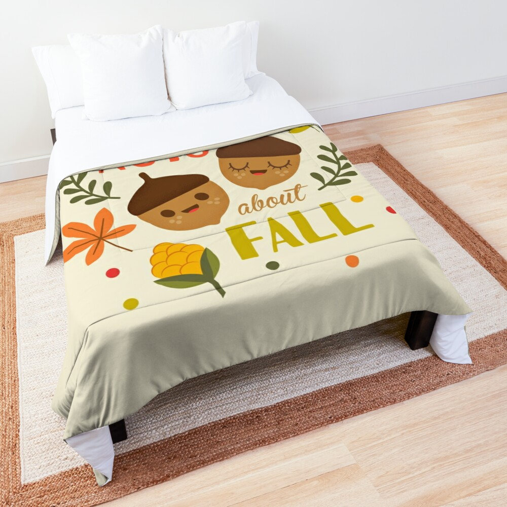Nuts about Fall Comforter
