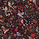 Xmas flora by camcreativedk