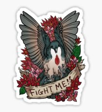 FIGHT ME!! Sticker
