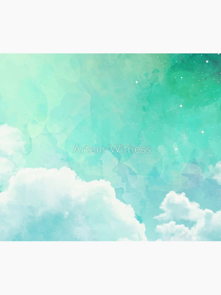Above the sky by Artem-Witness