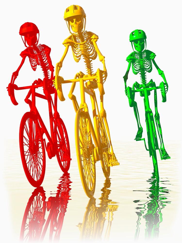 Bones on bikes  | Unisex T-Shirt