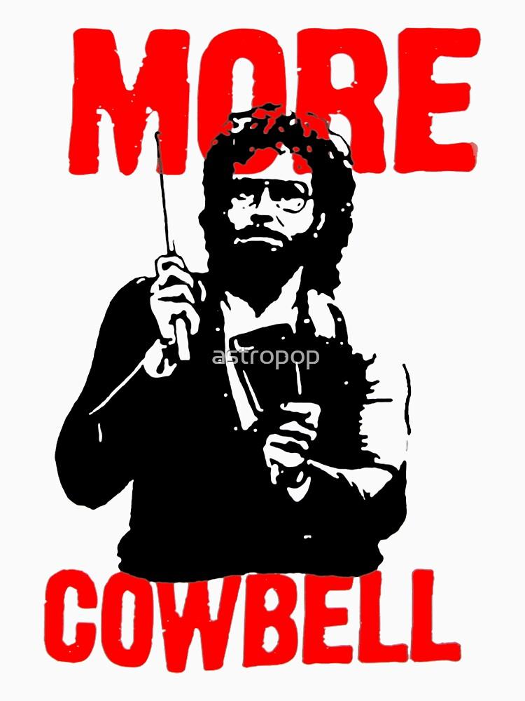 TShirtGifter presents: More Cowbell T-Shirt | Unisex T-Shirt