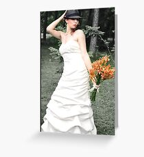 Lovely Bride Greeting Card
