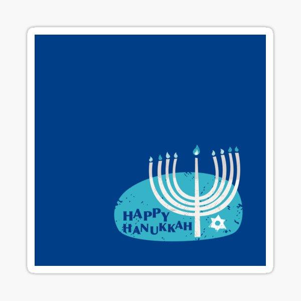 Happy Hanukkah! Sticker