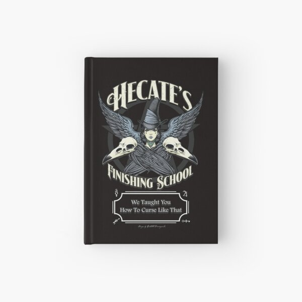 Hecate's Finishing School Hardcover Journal