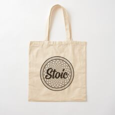 Forever Stoic - Stoic Forever Cotton Tote Bag