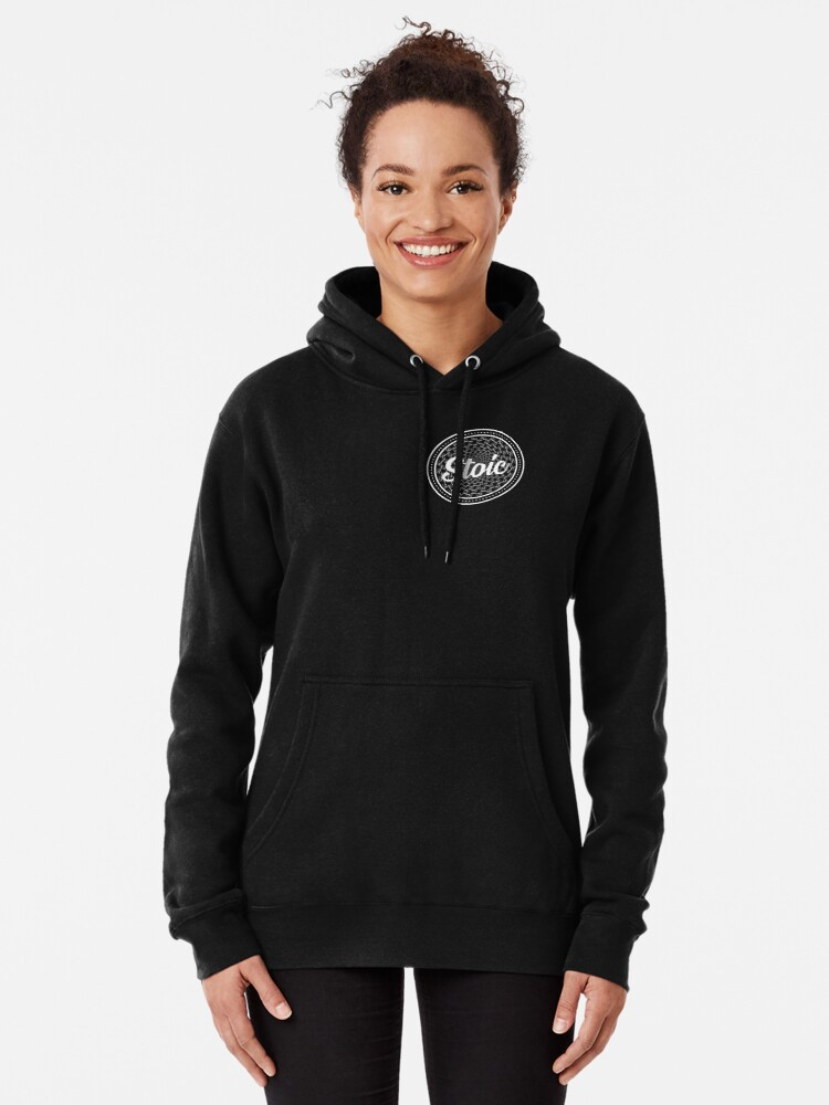 Alternate view of Forever Stoic - Stoic Forever Pullover Hoodie