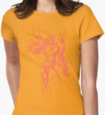 Rodimus sketch Womens Fitted T-Shirt