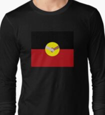 Reconciliation - Aboriginal Flag Long Sleeve T-Shirt