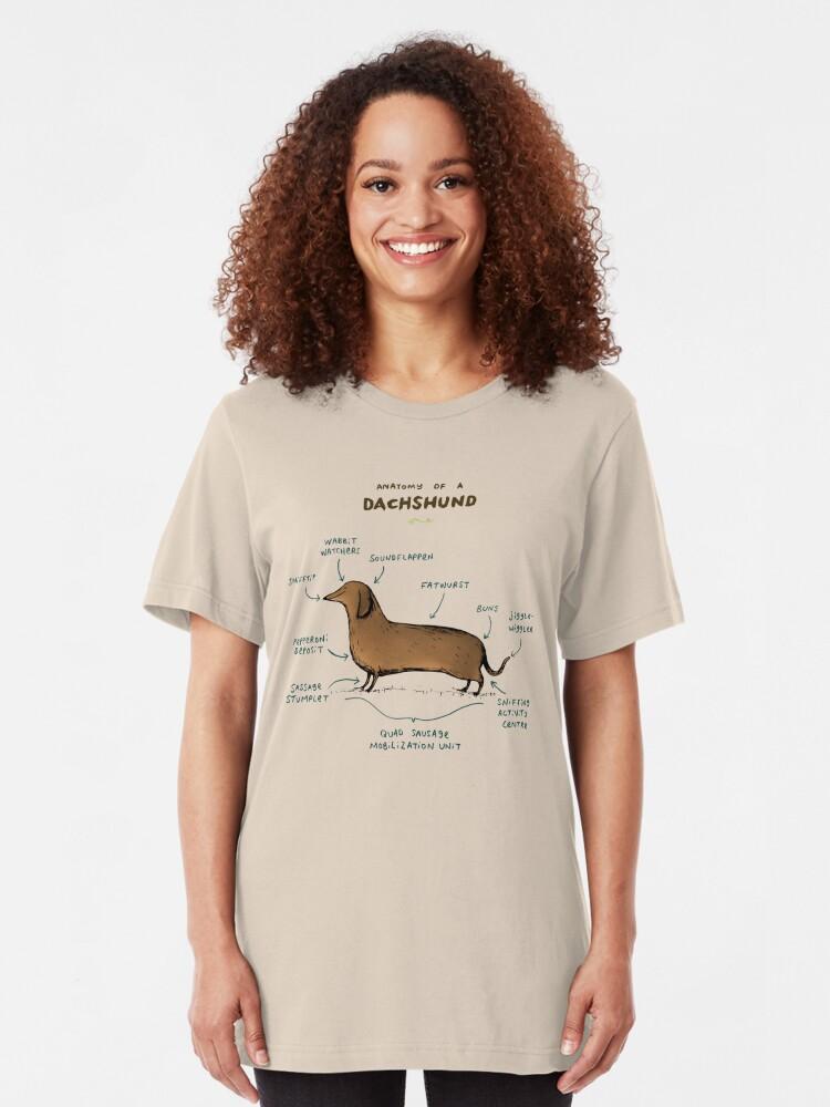 Anatomy Of A Dachshund Classic Tshirt T shirt Hoodie for Men Women Unisex