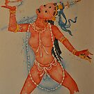 Vajrayogini, the Tibetan Buddhist Dakini Goddess by Sophie Jane Mortimer