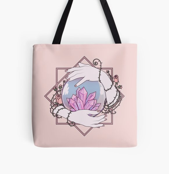 Crafty Witch: Crystal Ball   All Over Print Tote Bag