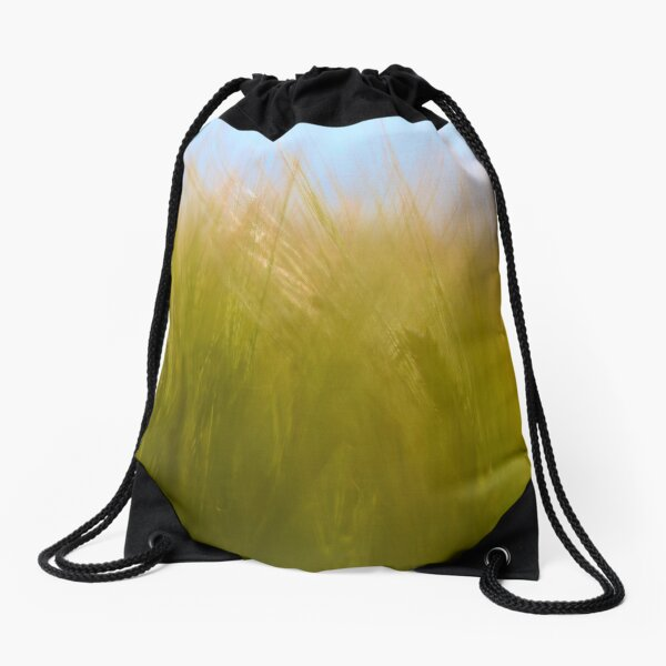 Blue Skies Over Yonder Drawstring Bag
