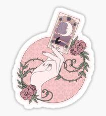 Crafty Witch: Tarot Card Sticker