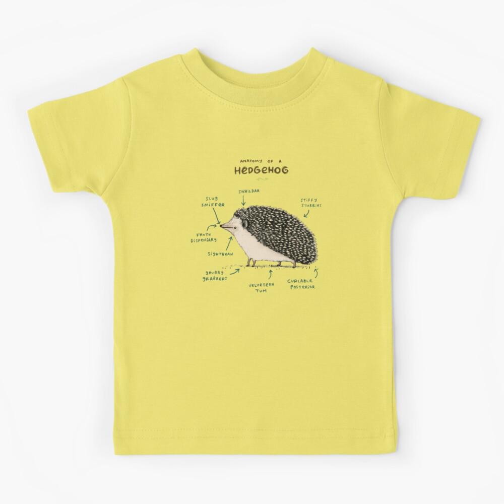 Anatomy of a Hedgehog Kids T-Shirt