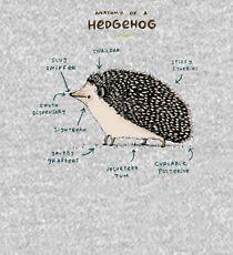 Anatomy of a Hedgehog Kids Pullover Hoodie