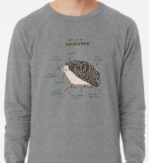 Anatomie eines Igels Leichter Pullover