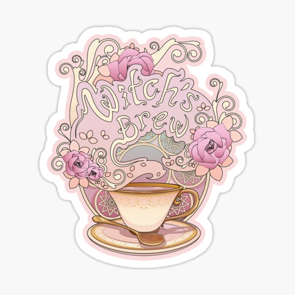 Crafty Witch: Witchs Brew Sticker