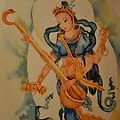 Saraswati: Goddess of Wisdom by Sophie Jane Mortimer