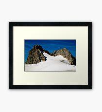 Dachstein Glaciers Framed Print