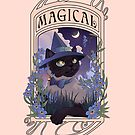 Witches Familiars: Magical Siamese Cat by DuoTalesStudio