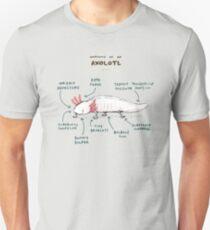 Anatomy of an Axolotl Unisex T-Shirt