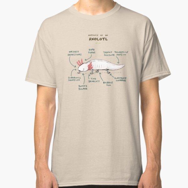 Anatomy of an Axolotl Classic T-Shirt