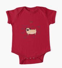 Anatomy of a Pug Kids Clothes
