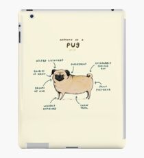 Anatomy of a Pug iPad Case/Skin